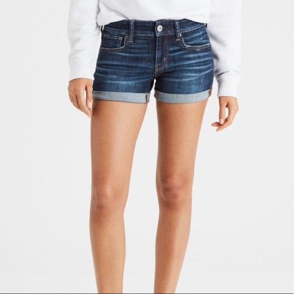 American Eagle Shortie Denim Shorts - LIKE NEW